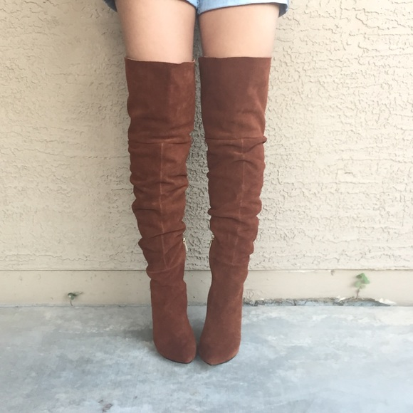 38fad1db95f Chinese Laundry Shoes - Kristin Cavallari Over the Knee Slouch Boot